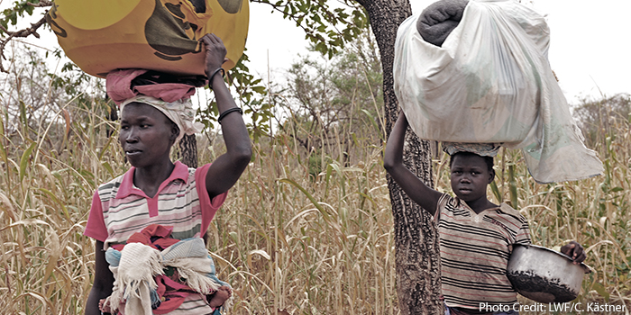 Lutheran World Relief South Sudan Famine Fund