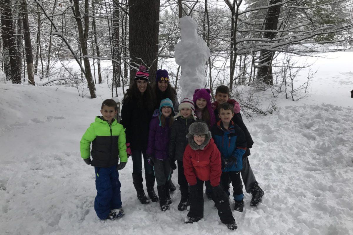 Build the tallest snowman