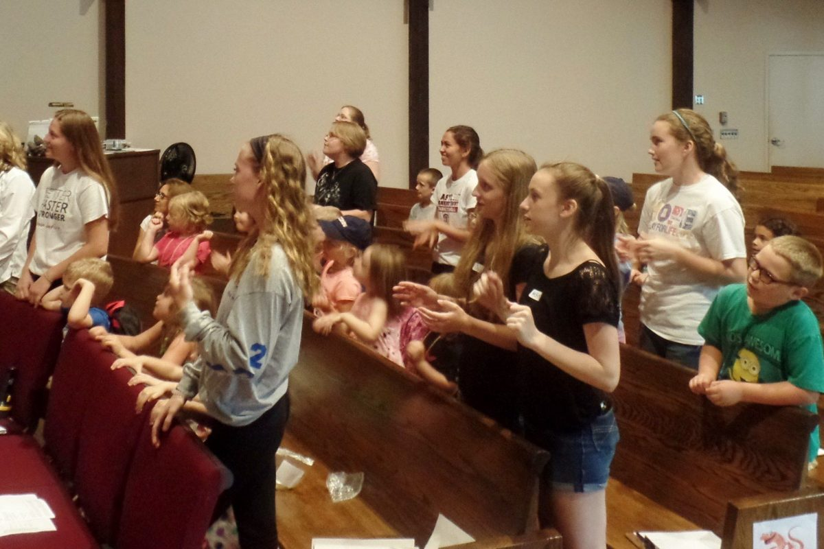 Singing some hymns