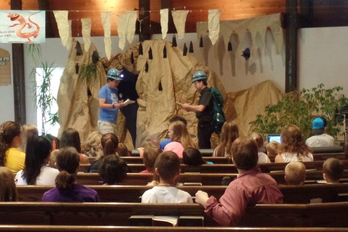 Pastor Jeff and Pastor Tim take the stage